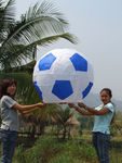 Небесный Фонарик Стандартный футбольный