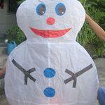 Небесный Фонарик Снеговичок 2
