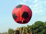 Небесный Фонарик Большой футбольный