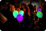 подсветка шаров