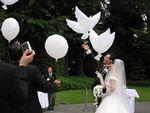 БИО Воздушный Шар Свадебный Ангел